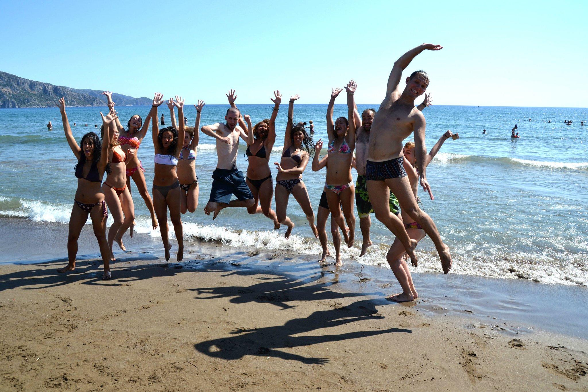 Letní univerzita s AEGEE-Izmir - pláž Iztuzu.