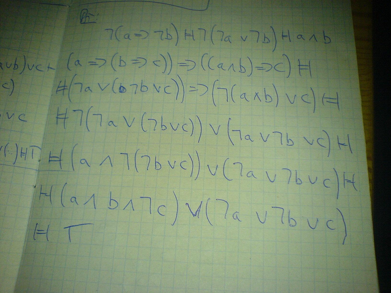 Matematická logika - výroková logika.