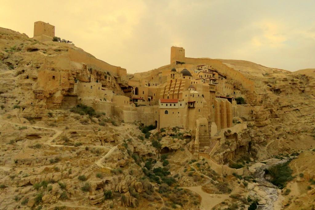 klášter Mar Saba v Palestině