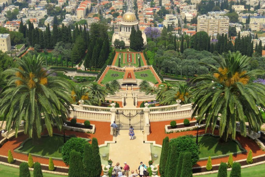Bahajské zahrady, Haifa