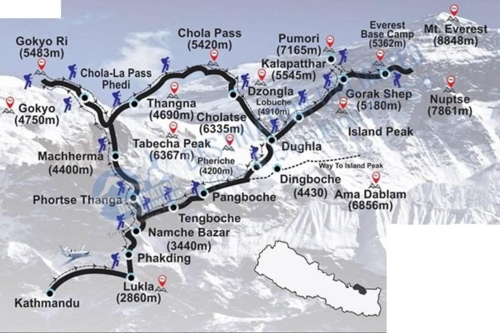 mapa našeho plánu