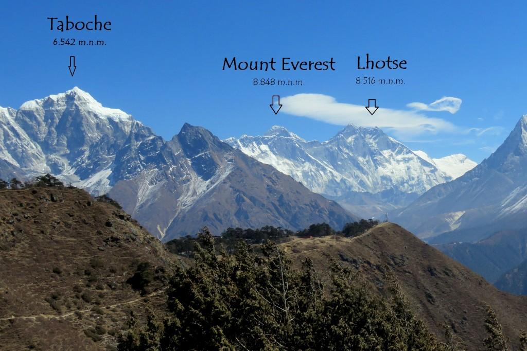 Everest Viewpoint kousek nad Namche Bazaar