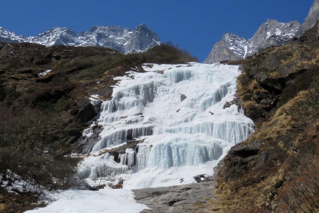 ledopády nad Portse Tenga