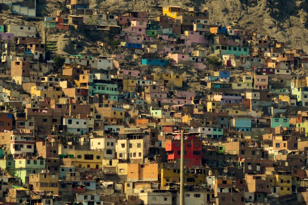 slumy San Cristobalo, Lima