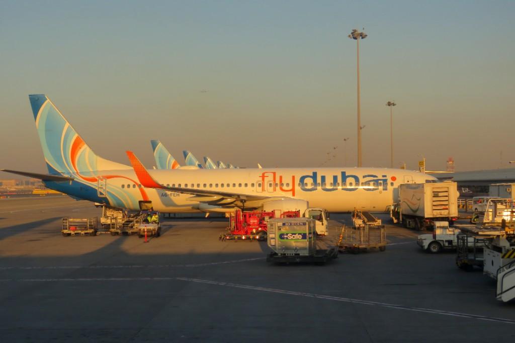 mezipřistání v Dubaji