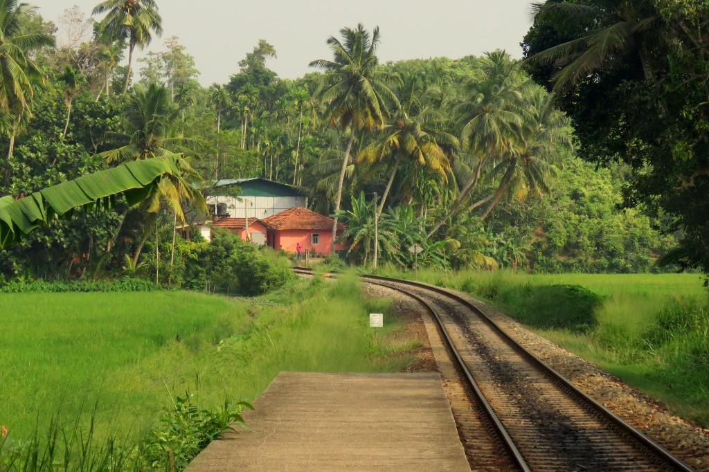 vlaková zastávka Mirissa