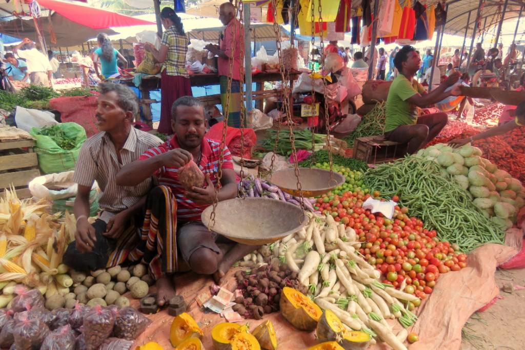 trhy v Habaraduwě
