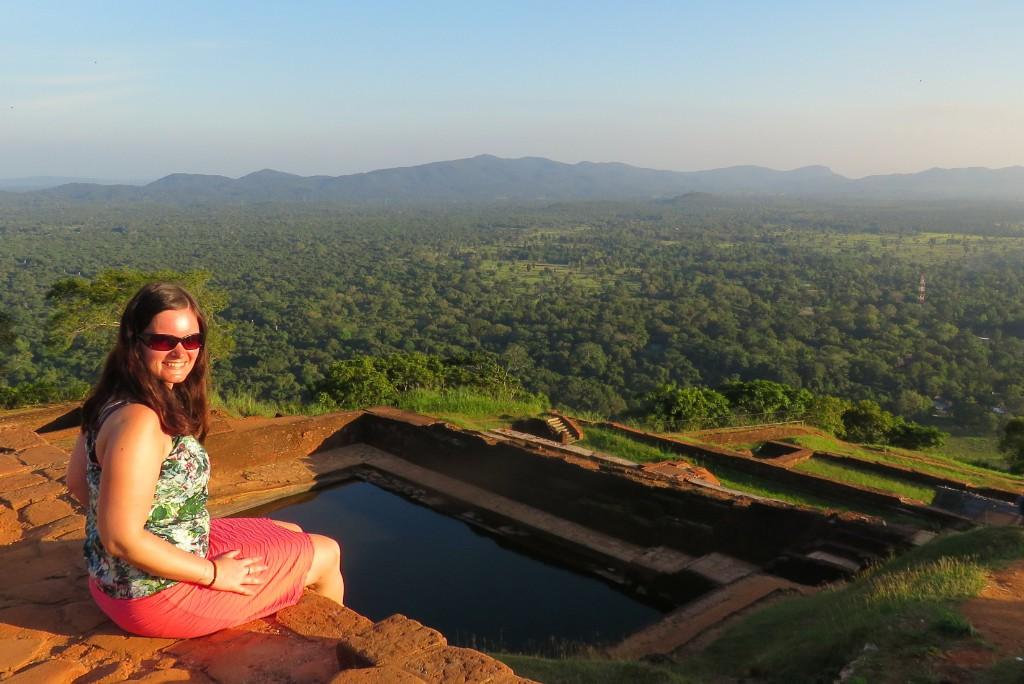 Lví skála Sigiriya