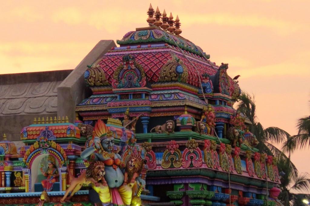 hinduistický chrám v Trincomale