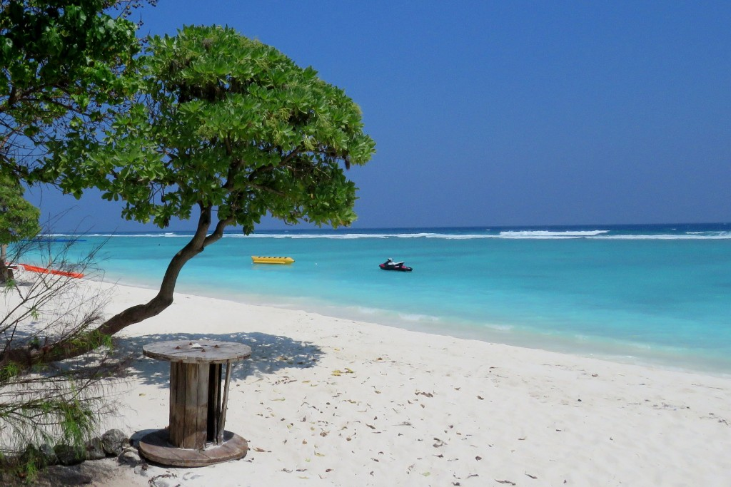 pláž na ostrově Hulhumalé