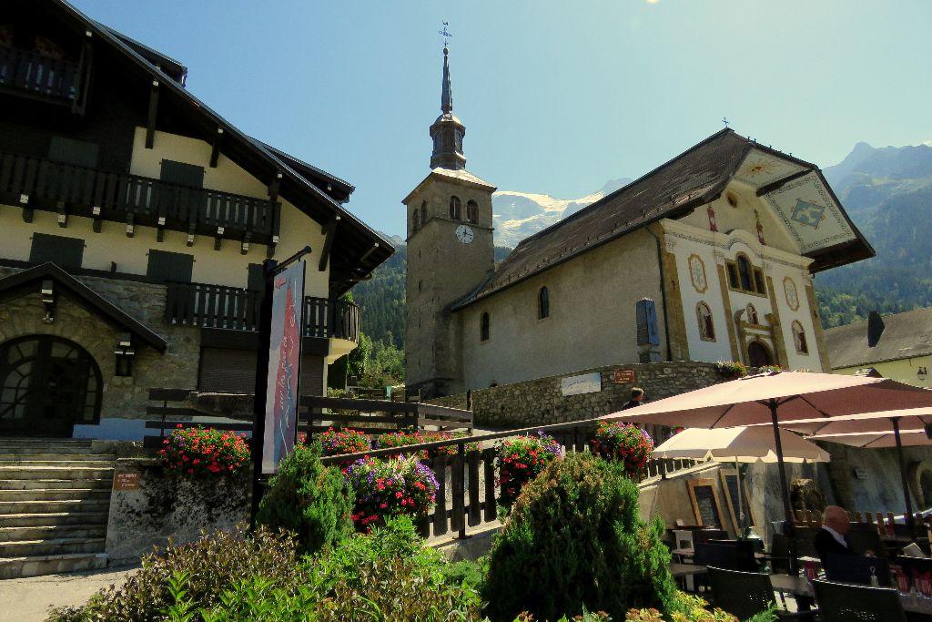 vesnička Les Contamines