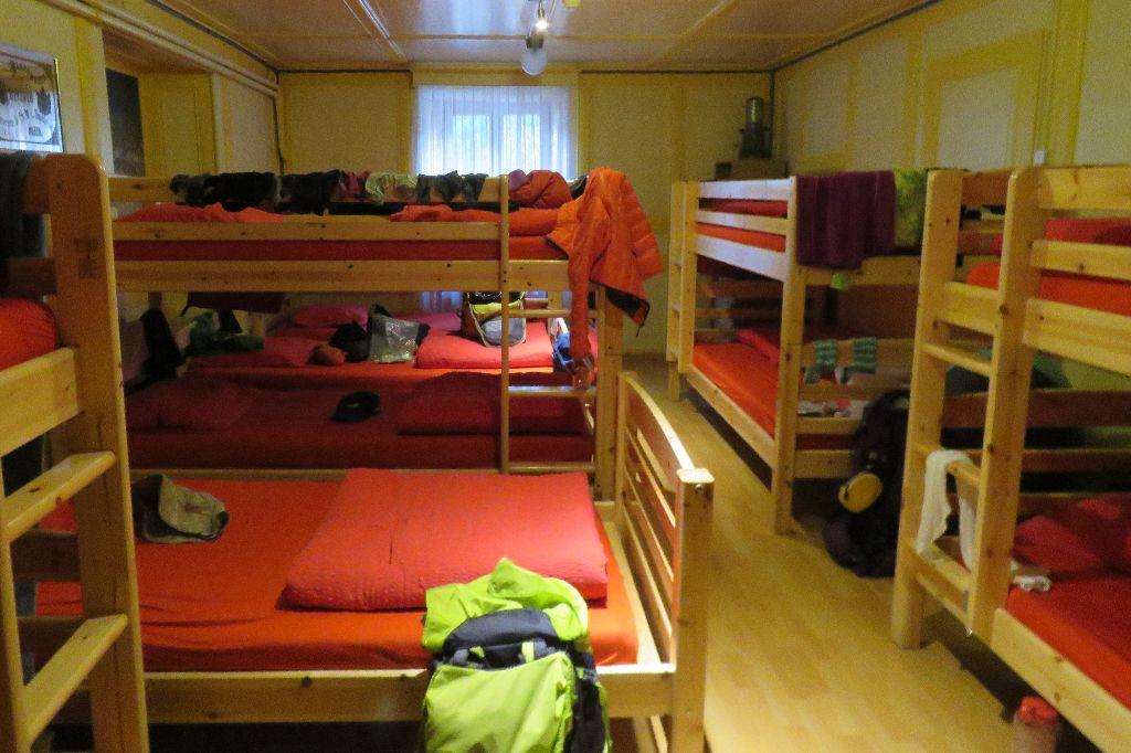 nocleh v hotelu Col de la Forclaz